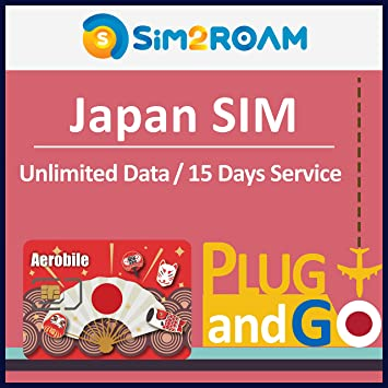 Japan SIM Tarjeta SIM Japón Softbank – 15 días de Datos ilimitados ...