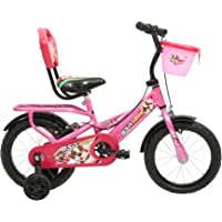 BSA Champ Woof 12T Single Speed Steel Cycle (Barbie Pink) 9inch Frame
