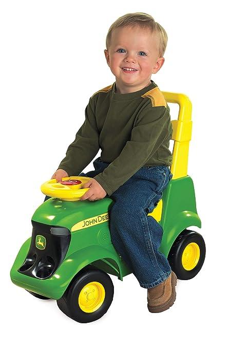 John Deere Ride On Toys >> John Deere Sit N Scoot Activity Tractor