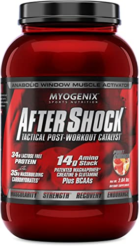 Myogenix Aftershock Fruit Punch 2.64Lb