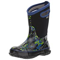 Kids Classic High Waterproof Insulated Rubber Rain and Winter Snow Boot for Boys, Girls and Toddlers, Multiple Color Options