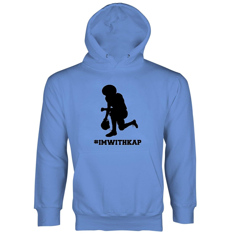 b9768678278 Amazon.com  Im With Kap Hoodie Colin Kaepernick Hoodie  Clothing