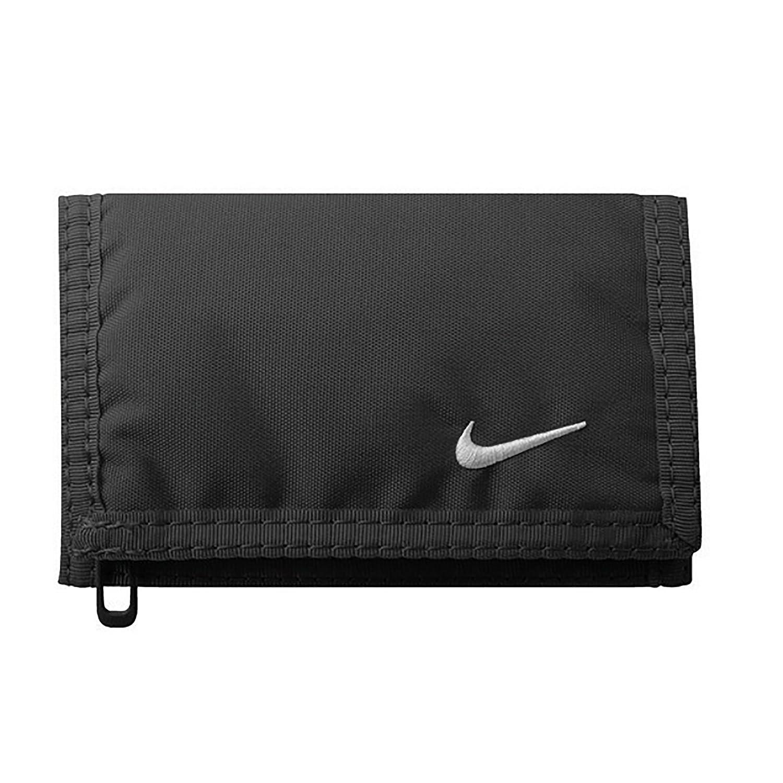 Nike Billetera básica Negra blanca talla única
