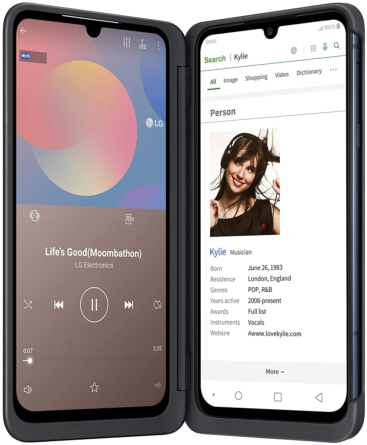 LG G8X Dual Screen Mobile best non chinese mobile in India