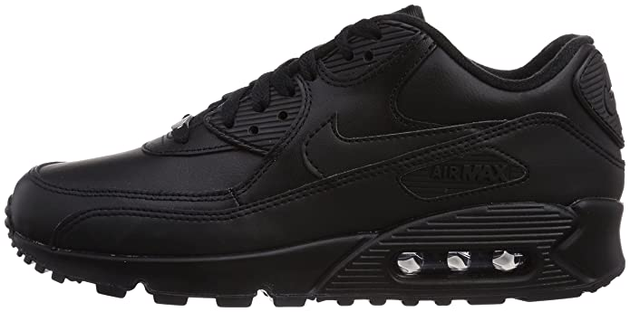 official photos 03706 4d45e Amazon.com   Nike Air Max 90 Leather Mens Style   302519-001 Size   13 D(M)  US   Road Running