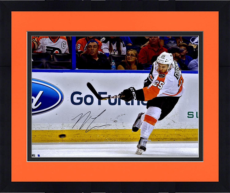 save off 2a540 04f7a Framed Nick Cousins Philadelphia Flyers Autographed 16