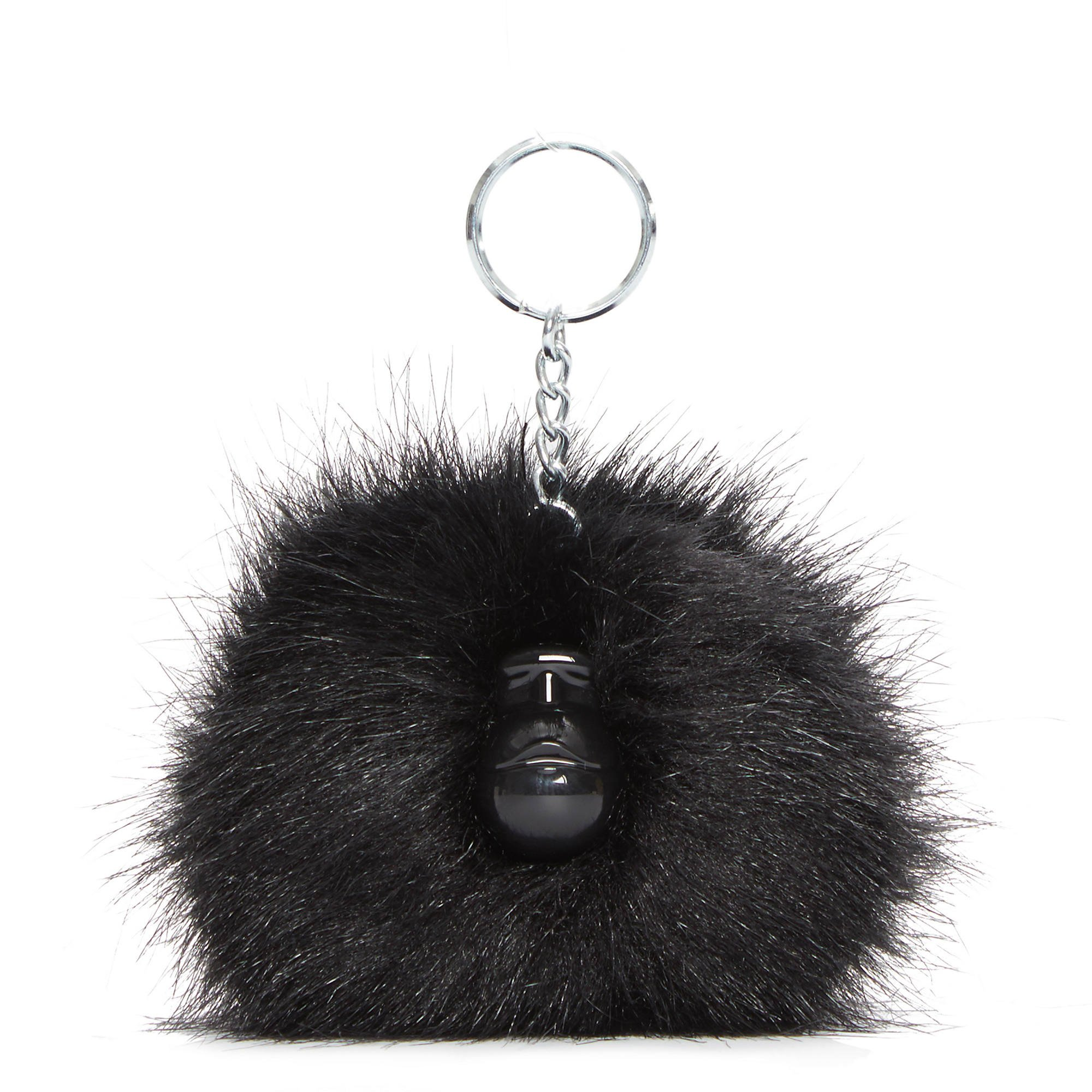 Kipling Women's Pompom Monkey One Size True Black