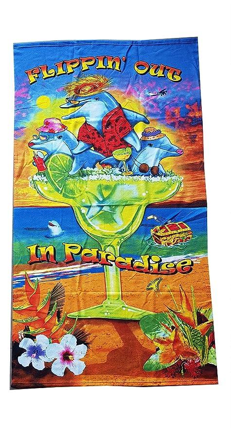 Toalla Playa Microfibra 92 x 165 cm para mujer para hombre de toallas de baño ideal