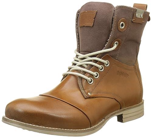 Jtar, Mens Ankle Boots Bunker