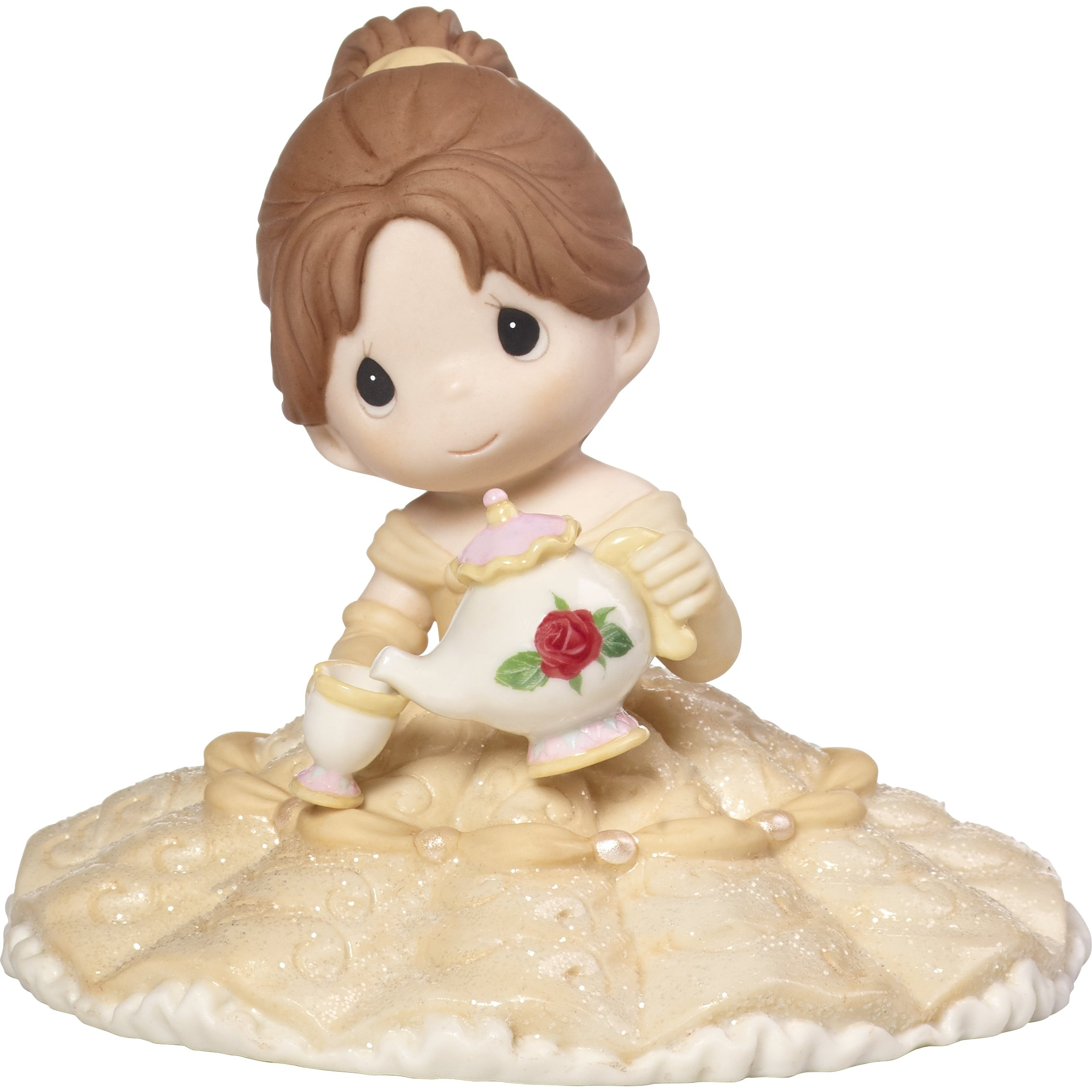 Precious Moments Disney Belle You're My Missing Piece Poreclain Figurine or Cake Topper 173092 by Precious Moments (Image #1)