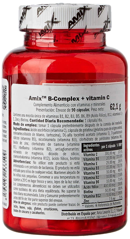 Amix 8594159533509 - B-Complex Vitaminas y Minerales, 62.1 gr