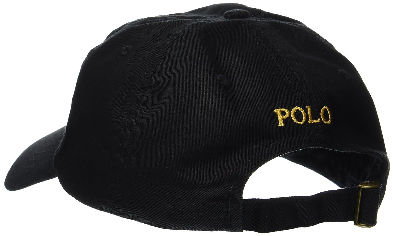 214ee3d4727 Ralph Lauren Polo Men s Cotton Chino Baseball Cap