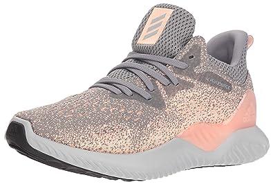 29c67e98a adidas Unisex Alphabounce Beyond Running Shoe, Grey/Clear Orange, 3.5 M US  Big