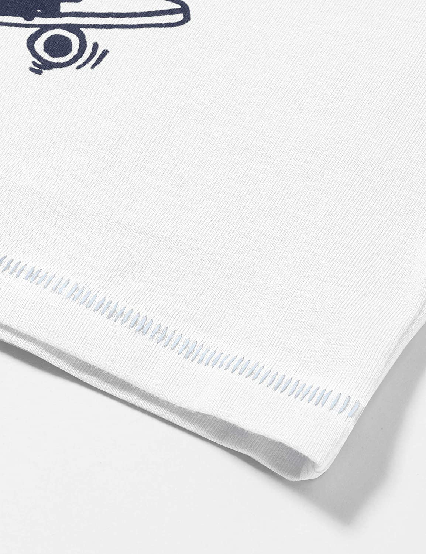 United Colors of Benetton Baby-Jungen T-Shirt M//L Langarmshirt