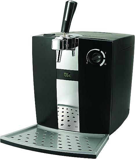 Sogo: SS-12610 Dispensador de Cerveza de Barril 5 Litros, Kit Artesanal, Tirador de Cerveza con Sistema de Refrigeración, Estilo Tradicional, 72W, Color: Negro: Amazon.es: Hogar