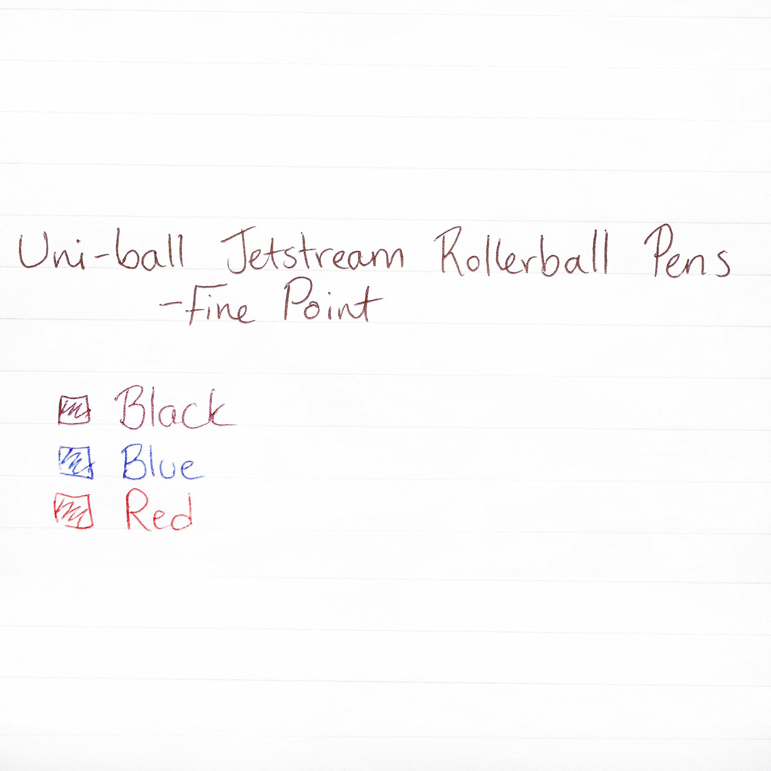 uni-ball Jetstream RT Ballpoint Pens, Fine Point (0.7mm), Black, 12 Count by Sharpie (Image #6)