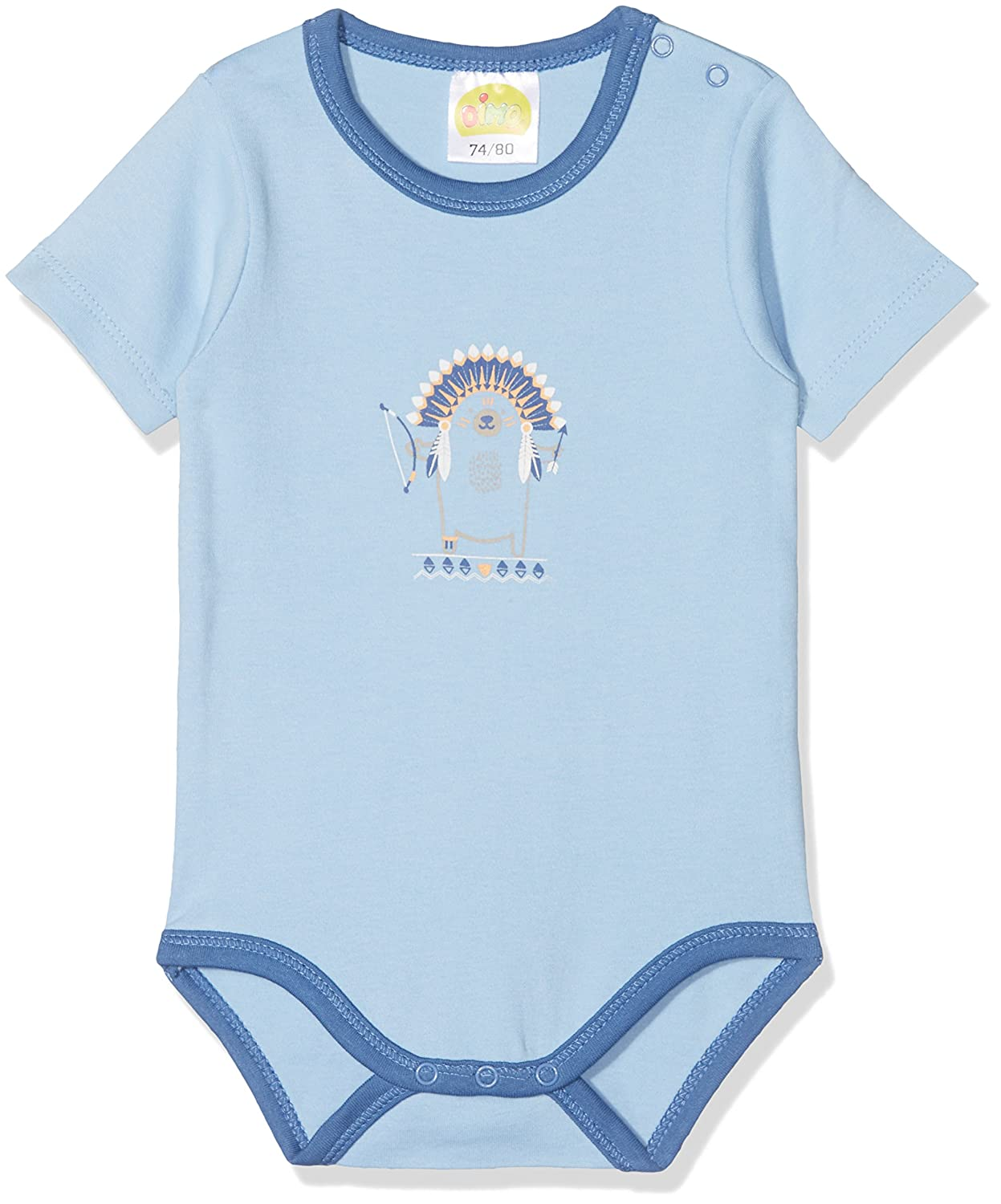 DIMO-TEX Baby Kurzarmbody Indian Summer Bodysuit