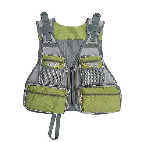 68dfc8e076646a Amazon.com   Fly Mesh Fishing Vest