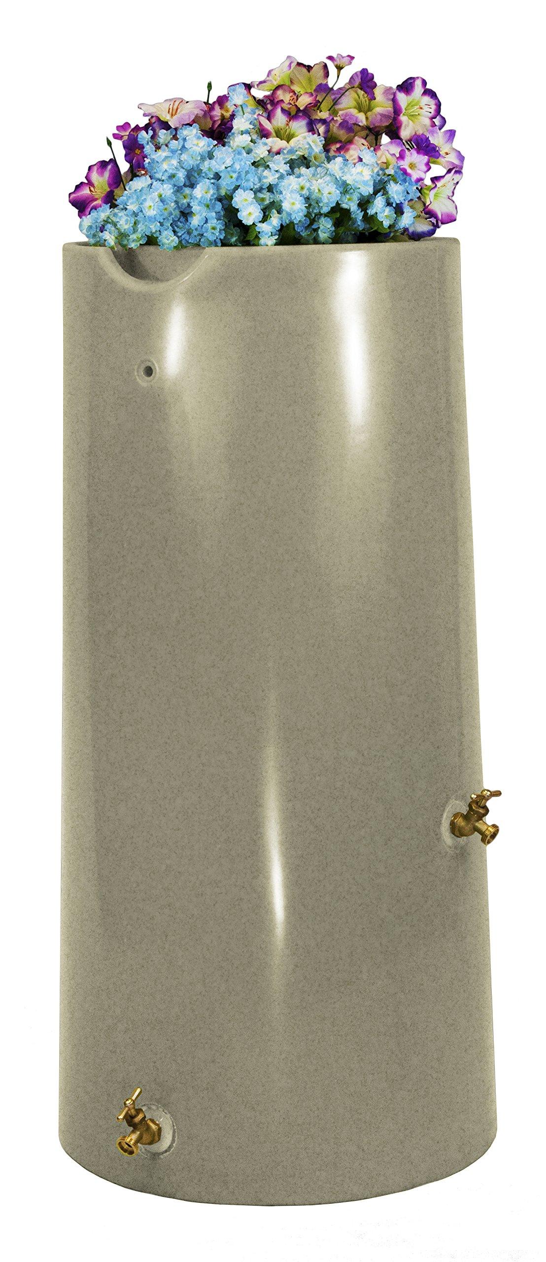 Good Ideas IMP-R50-SAN Impressions Reflections Rain Saver Rain Barrel, 50 Gallon, Sandstone by Good Ideas
