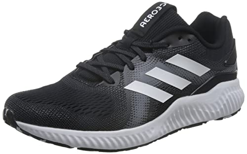 new concept e5ea3 18e46 Adidas Mens Aerobounce St M CblackFtwwhtUtiblk Running Shoes - 6 UK