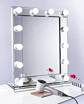 Hollywood Vanity Makeup Mirror Ledusb Dimmer Professional