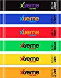 Resistance Loop Bands Set - 6 LEVELS - XTREME BANDS For Exercise, Fitness & Workout, Exceptional 6 BAND LOOP SET…