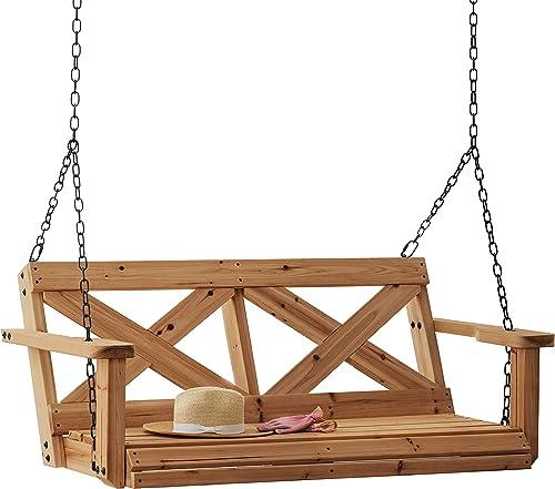 Backyard Discovery 2006614 Farmhouse Cedar Porch Swing