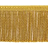 K9 Sold by The Yard Style# BFTC3 Color D/ÉCOPRO 3 Inch Long Black Thin Bullion Fringe Trim