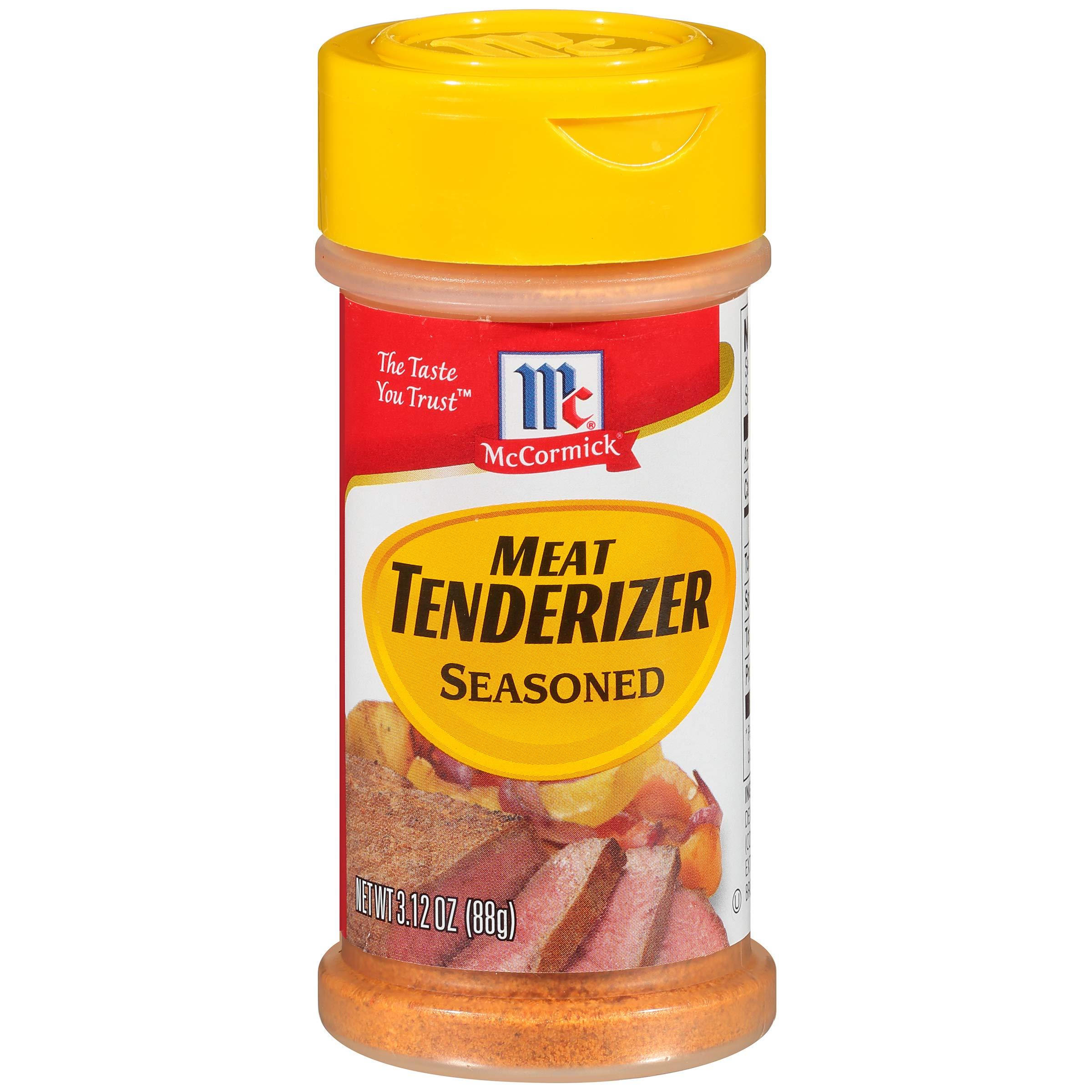 McCormick Meat Tenderizer Seasoned, 3.12 OZ (Pack - 3)