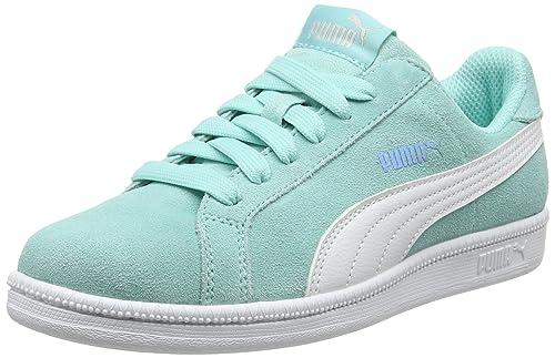 Sneakers blu per unisex Puma Smash FsJ7M2T