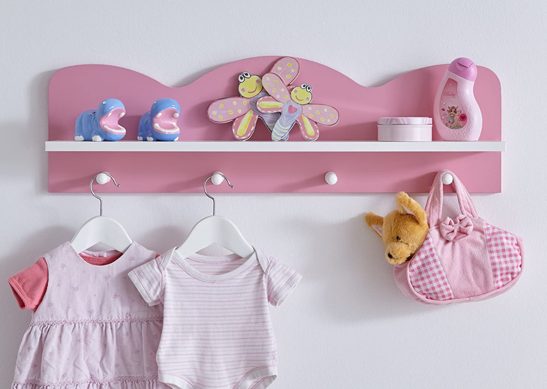 Prinzessin Babyzimmer ticaa babyzimmer prinzessin 3 teilig rosa amazon de baby