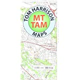 Mt Tam Trail Map (Mount Tamalpais State Park)