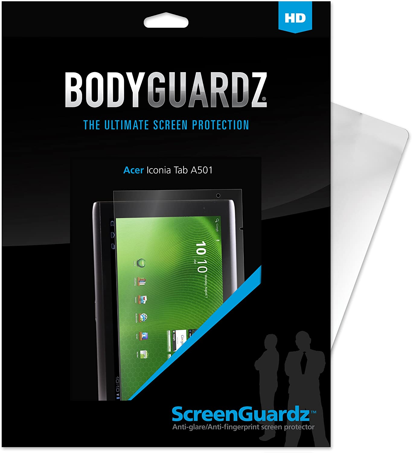 BodyGuardz BZ-HAT5-0911 HD Anti-Glare Screen Protection for Acer Iconia Tab A501