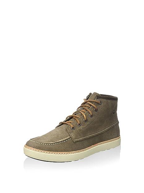 TIMBERLAND 5454A KHUDSTON musgo zapatos marrones hombre zapatillas de deporte mediados postal 45.5: Amazon.es: Zapatos y complementos