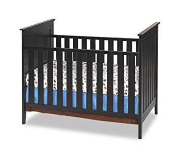 amazon com simmons melody 3 in 1 crib black discontinued by