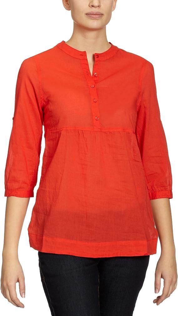 Vero Moda - Blusa para Mujer, Talla 38, Color Rojo (Dark Poppy Red): Amazon.es: Ropa y accesorios
