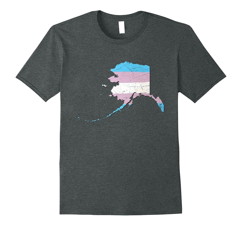Alaska Transgender Pride Flag T-Shirt-CD