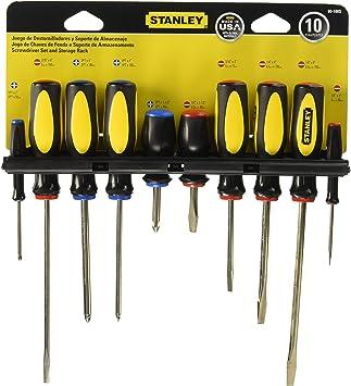 Stanley 60-100 10-Piece Set Destornilladores
