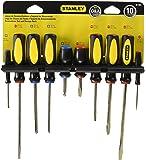 Stanley 60-100 10-Piece Standard Fluted Screwdriver Set