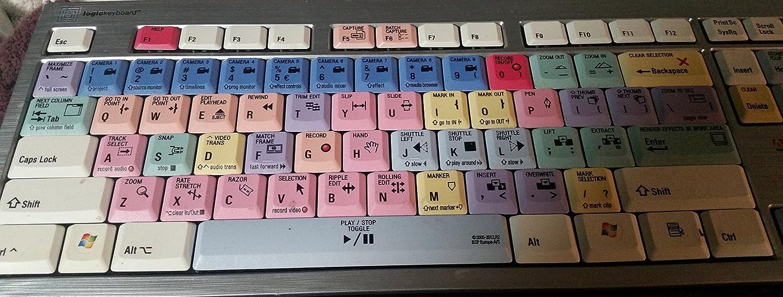 LogicKeyboard Adobe Premiere Pro CS 6 PC Wireless Slim Line Keyboard