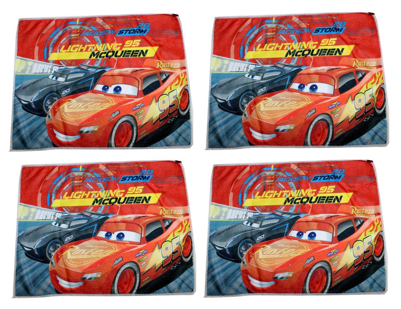 4pezzi Disney Pixar Cars da bagno 40x 31cm Saetta McQueen Kids Licensing