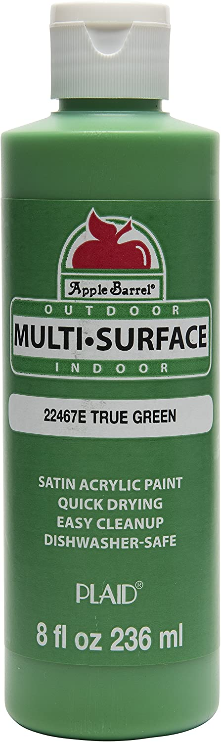Apple Barrel Multi-Surface Paint in Assorted Colors (8 oz), True Green