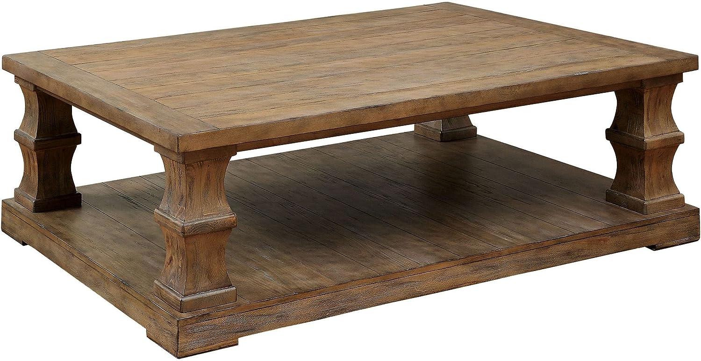 Amazon.com: Furniture of America FA-CM4457C Coffee Table ...