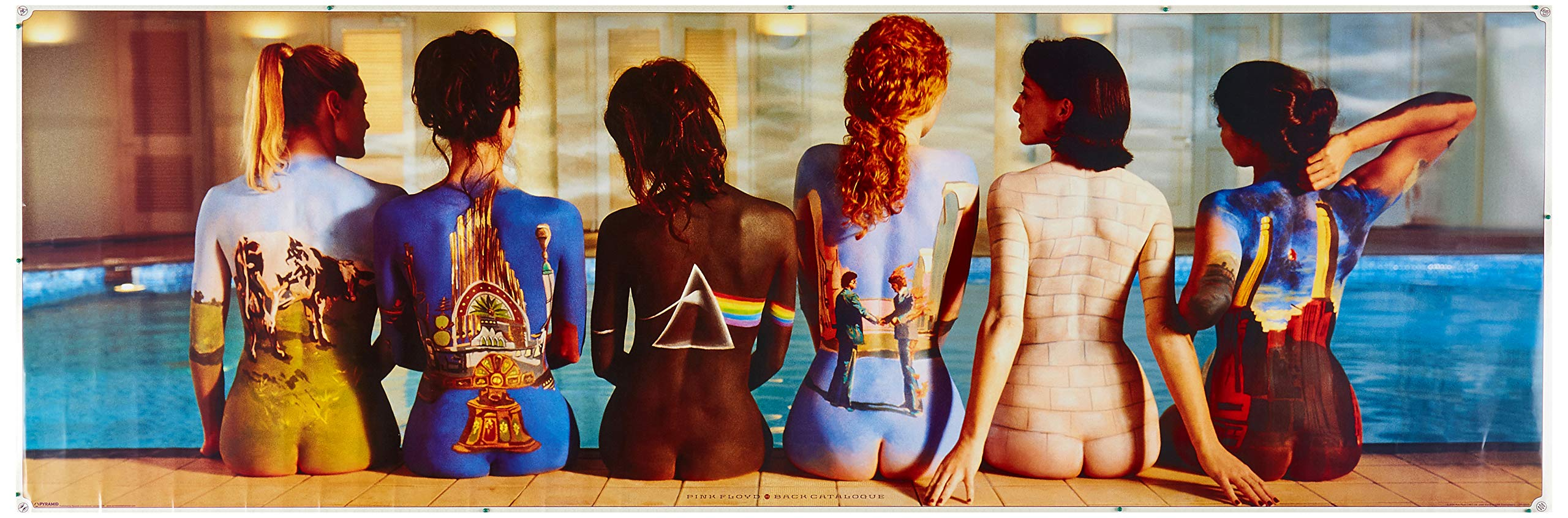 Pyramid Door Poster - Pink Floyd Back Catalogue, 53 x 158 cm by Pyramid