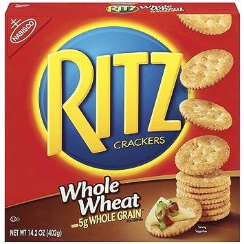 Ritz Whole Wheat Crackers 14 2 Oz
