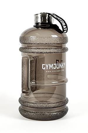 Gymjunky - Botella para el agua, 2,2 L, ideal para uso deportivo