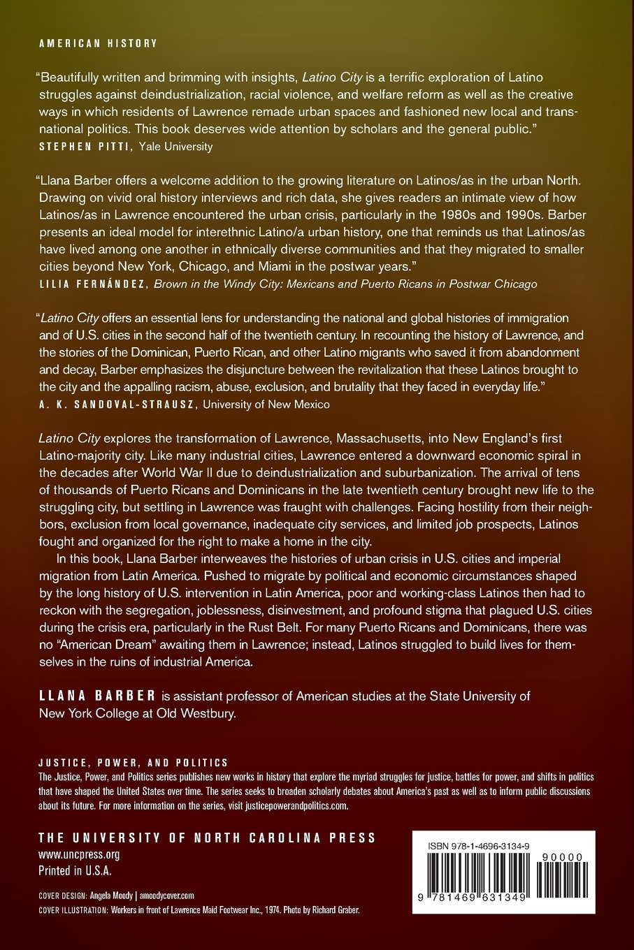 Latino City: Immigration And Urban Crisis In Lawrence, Massachusetts,  1945 2000 (Justice, Power, And Politics): Llana Barber: 9781469631349:  Amazon.com: ...