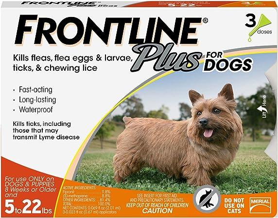 FRONTLINE Plus Flea and Tick Treatment
