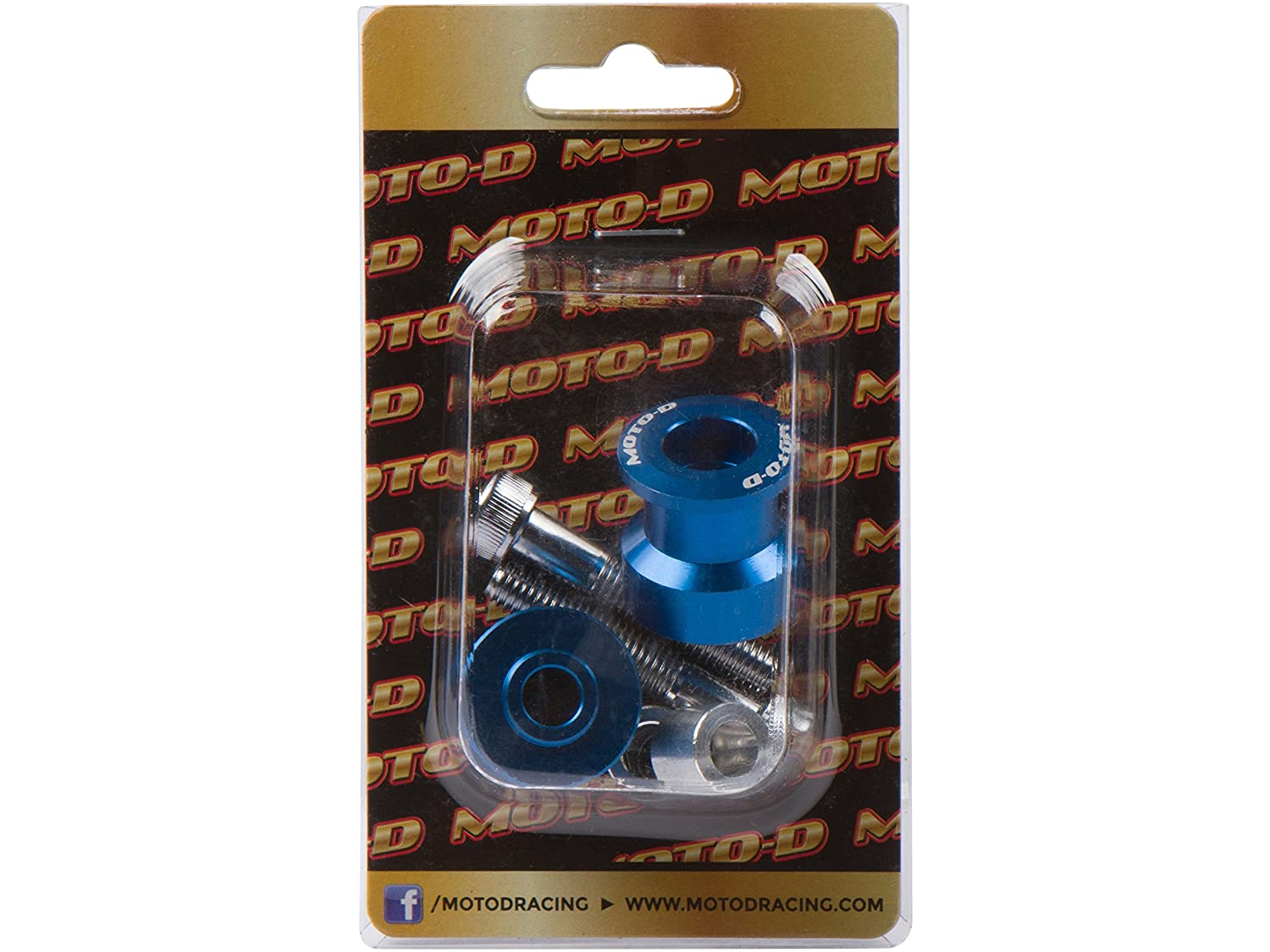 MOTO-D 8MM Swingarm Spools Blue MOTO-D Racing