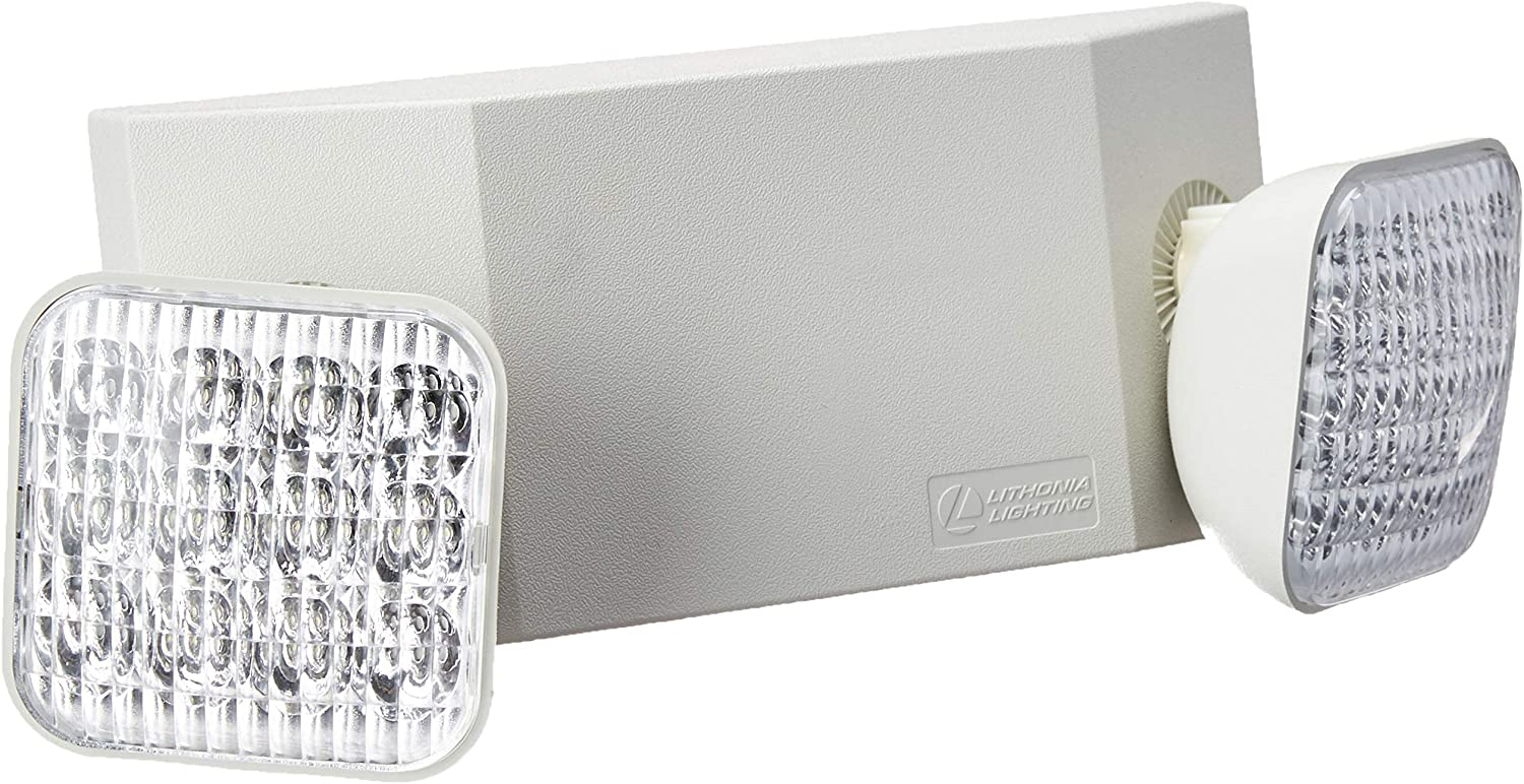 Lithonia Lighting EU2C M6 Emergency Light, Generation 3, T20 Compliant